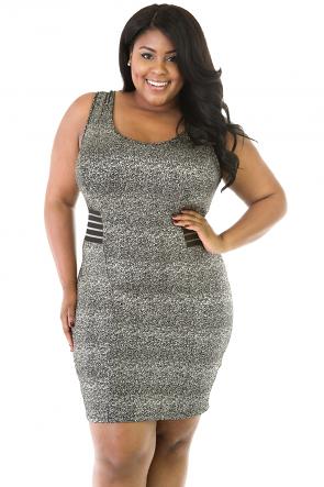 Speckled Shine Dress