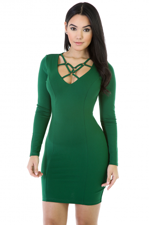 Ring Mini Dress