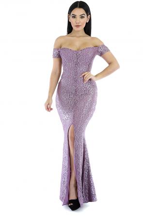 Nancy Slit Maxi Dress