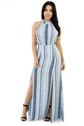 Bandana Type Of Maxi Dress
