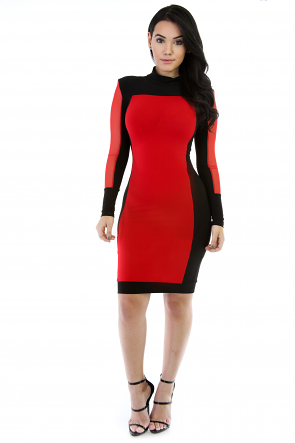 The-Two Of Us Bodycon Dress