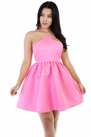Mary Me Flare Girly Dress