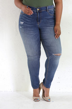 A few Shreds Jeans