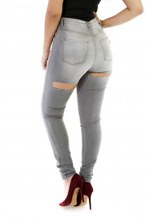 Slit Cheeks Jeans