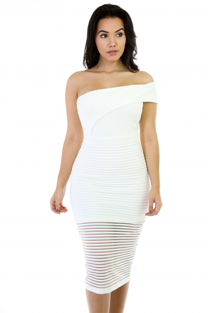 Elastic Girl Bodycon Dress