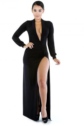 Sexy Bridge Maxi Dress
