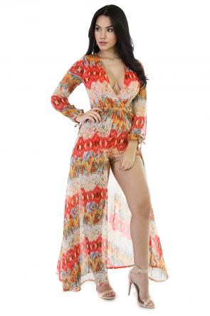 Dizzy Girl Maxi Dress