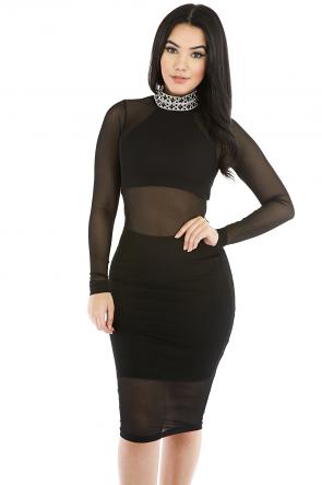 Diamond Girl Bodycon Dress