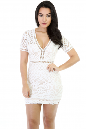 Queen Nicole Knitted Tri Dress