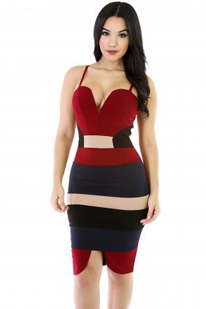 Tripple the-Bae Bodycon dress